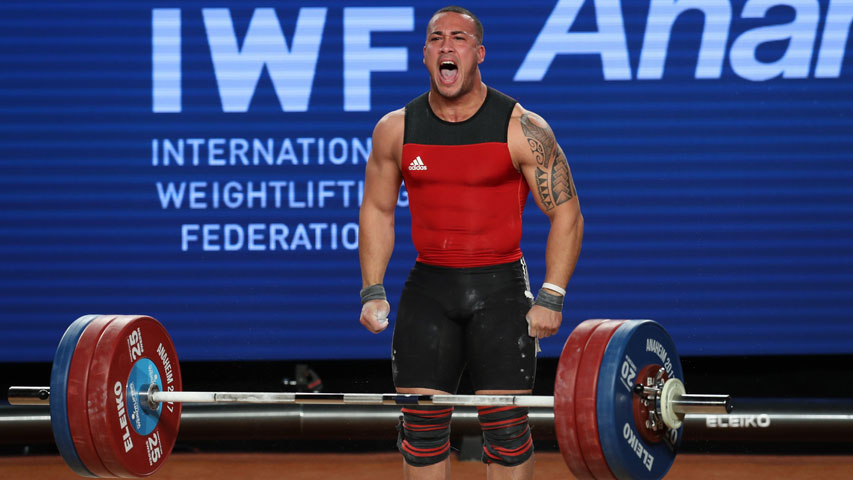 Anal explosion weightlifting